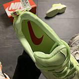 Женские кроссовки Nike M2K Tekno Light Green, Женские Найк М2К Текно Зеленые Кожаные, фото 8