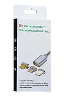 Магнітний кабель USB G5 2в1 ш.до.2000990863010