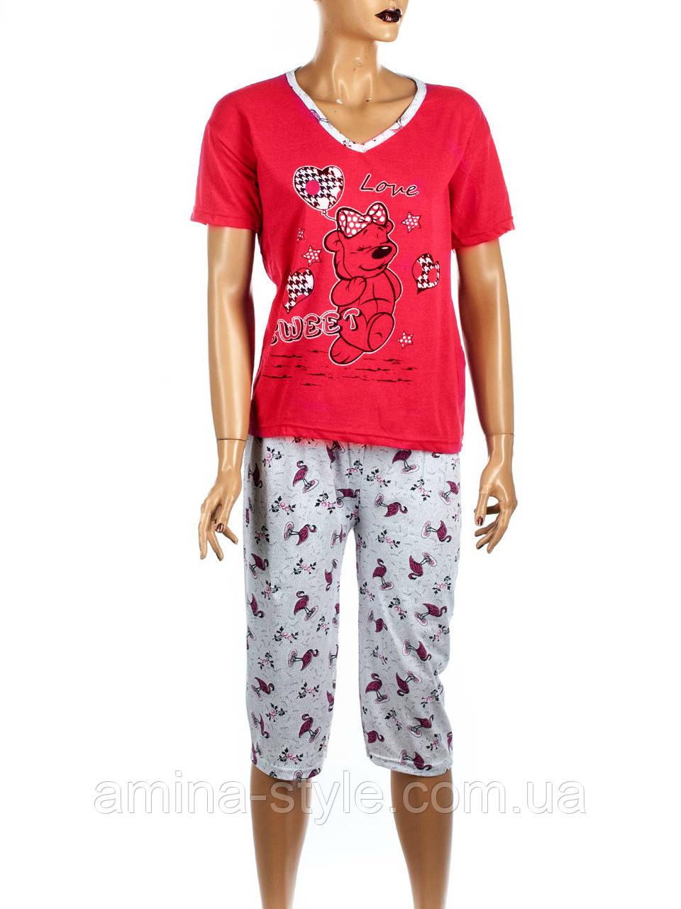 """Пижама женская с бриджами """"K.S.M"""" размер М(42-44), L (44-46), ХL(48-50)"""