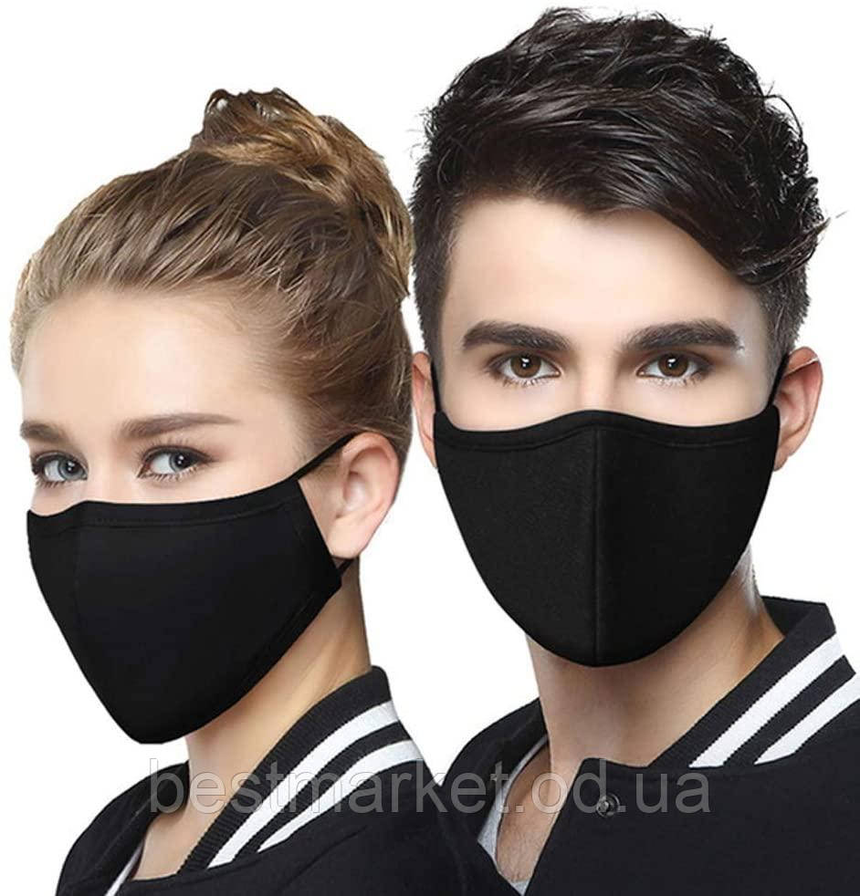 Защитная Маска для Лица Многоразовая с Фильтром Анти PM2.5Fashion Masks