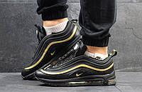 Кроссовки Nike 97, черные, 41р. по стельке - 26,5см.
