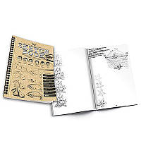 Комплект креативного творчества SKETCH BOOK укр. (40) 6628