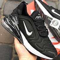 Кросівки Чоловічі Nike AIR C07 Чорно-Білі (40-44)