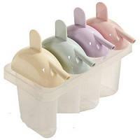 Формы для мороженого пластиковые (4шт / комплект) R21068