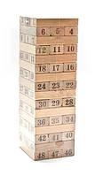 Игра настольная «Дженга» - Jenga на 48 брусков