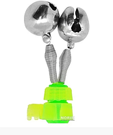"Колокольчик 2 бубенчика с креплением ""Фидер"" д.16мм 100шт / уп SF23985, Stenson"