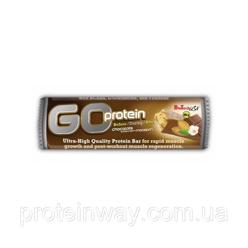 Biotech USA Протеиновый батончик GO Protein Bar 80 г