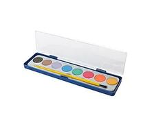 Фарби акварельні 8цв з пензликом, ST00206