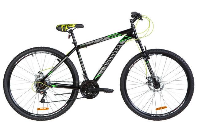 """Велосипед 29"""" Discovery RIDER DD 2020 (черно-серый с зеленым), фото 2"""