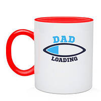Чашка Dad loading