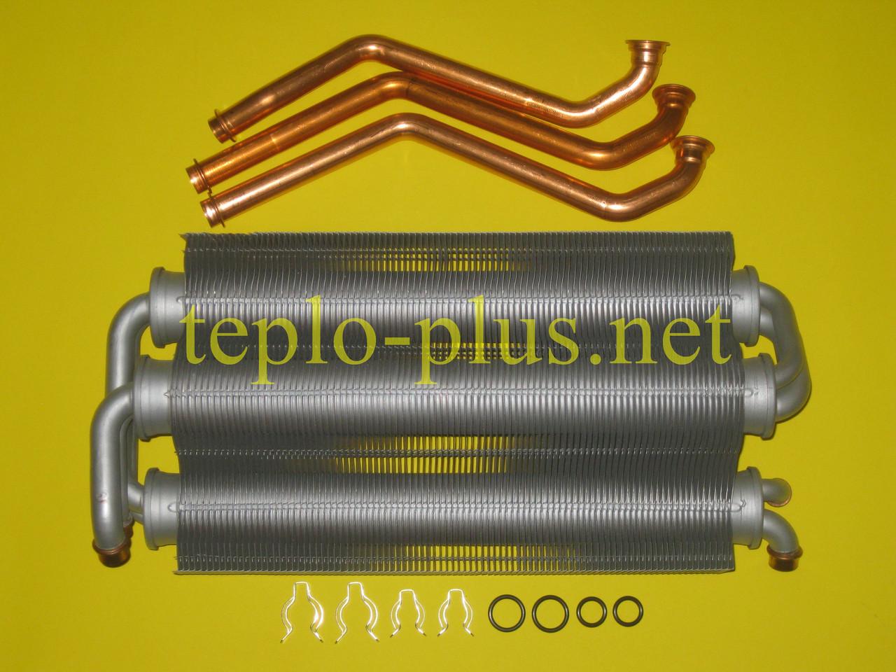 Теплообменник битермический 30 кВт 39819650 Ferroli Domicompact С30, F30, С30D, F30D, FerellaZip C30, F30