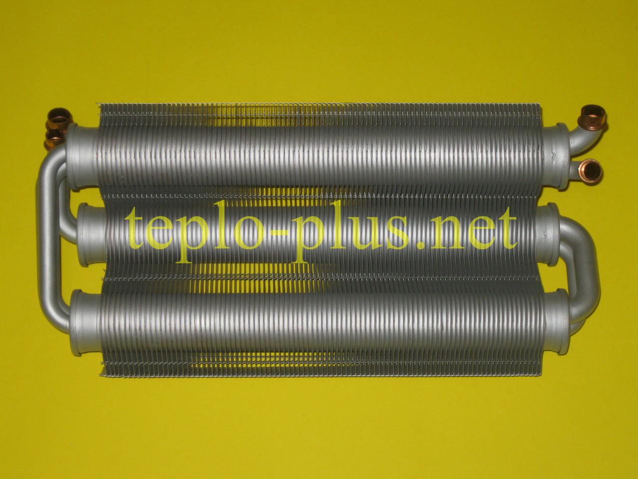 Теплообменник битермический 30 кВт 39819650 Ferroli Domicompact С30, F30, С30D, F30D, FerellaZip C30, F30, фото 3