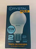 "Стандарт Лампа світлодіодна ""CRYSTAL"" A60 10Вт 4000K E27 ш.к. 4895127232801 код. 001 Б/Г"