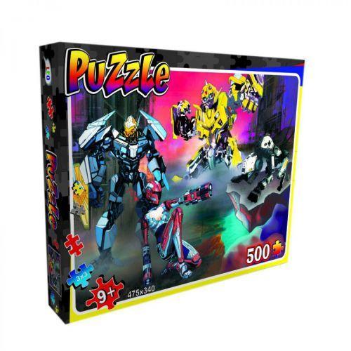 """Пазлы Strateg """"Роботы"""", 500 эл 22202"""