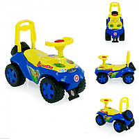 Детская машинка-каталка (толокар) Орион Дракончик 198B Синий