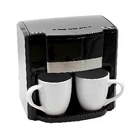 Кофеварка 500 Вт Rainberg RB-613 с двумя керамическими чашками