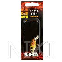 Воблер 55мм 10шт/уп  Stenson (жовтий) арт.SF23676-6