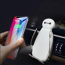 Розумний власник телефону для авто з бездротовою зарядкою C5 пингвинчик (12704)