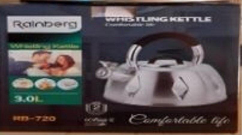 Чайник со свистком Rainberg RB-720