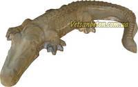 Декоративный бетонный крокодил