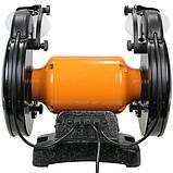 Точило 200 мм WorkMan TLG200VL з регулюванням обертів, фото 5