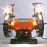 Точило 200 мм WorkMan TLG200VL з регулюванням обертів, фото 7