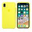 Силиконовый чехол на айфон/iphone XR flash yellow желтый, фото 2