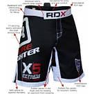 Шорты MMA RDX X5 Black 3XL, фото 5