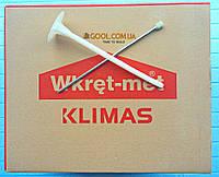 Дюбель Wkret-Met LFM 10х180мм для минеральной ваты и пенопласта в газобетон керамический блок с термоголовкой, фото 1