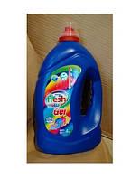 Рідкий гель для прання ТМ Fresh Color (4кг) 4 шт./уп