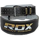 Пояс для тяжелой атлетики RDX Gold M, фото 6