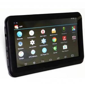 """Автомобильный Gps Навигатор Dvr Android A7002S 7"""" Wi-Fi Черный (Ml)"""