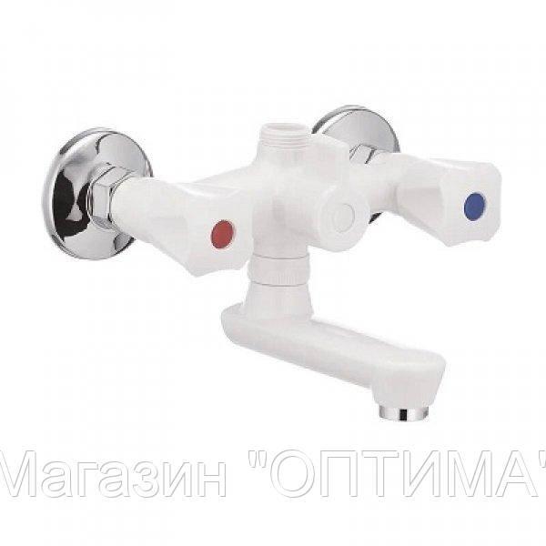 Смеситель для ванны OMEGA-142 пластик без подводки