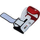 Боксерские перчатки RDX Pro Gel Red 16 ун., фото 2