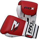 Боксерские перчатки RDX Pro Gel Red 16 ун., фото 3