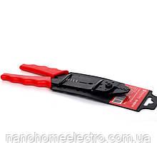 Инструмент для зачистки проводов и обжимки наконечников 8 мм²