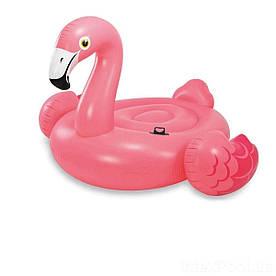 Надувной плот для взрослых Intex 56288 Фламинго 218х211х136 см