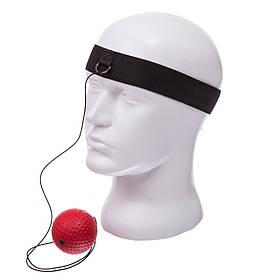 Тренажер для бокса fight ball BO-0374B (пневмотренажер)