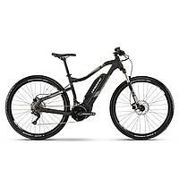 "Электровелосипед Haibike SDURO HardNine 3.0 500Wh 29"",  рама M, черно-серо-белый матовый, 2019"