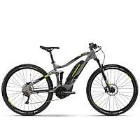 "Электровелосипед Haibike SDURO FullNine 4.0, 500Wh 20 s. Deore19 HB YCS 29"", рама M, серо-черно-зеленый,2019"
