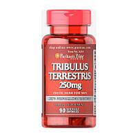 Стимулятор тестостерона Puritan's Pride Tribulus Terrestris 250 mg, 90 капсул