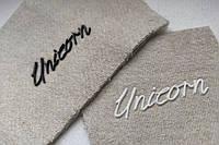 Печать резиной на ткани, резиновые буквы и логотипы ПВХ, пластизоль на ткани., фото 1