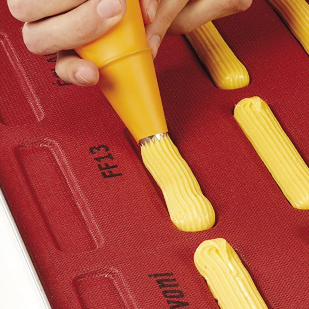 Силіконовий килимок для еклерів FF13 (125*25*5)