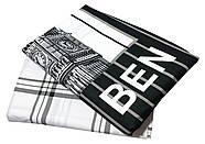 """Евро комплект (Бязь)   Постельное белье от производителя """"Королева Ночи""""   Лондон, Биг-Бен на черном и белом, фото 2"""
