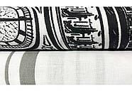 """Евро комплект (Бязь)   Постельное белье от производителя """"Королева Ночи""""   Лондон, Биг-Бен на черном и белом, фото 3"""