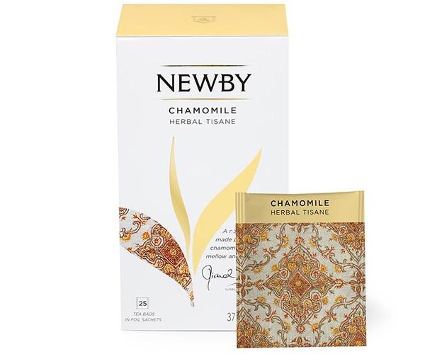 Травяной чай Newby Цветы ромашки в пакетиках 25 шт (300150)