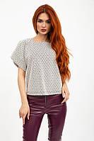 Блуза женская ромб норма