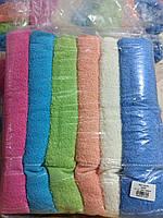 Полотенца махровые Банные Разноцветные Турция 6 штук в упаковке