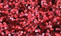 Красный глиттер-5 грамм-1 мм