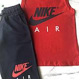 Летний костюм в стиле Nike на мальчика 9. Размер 128 см, 134 см, 140 см, фото 2